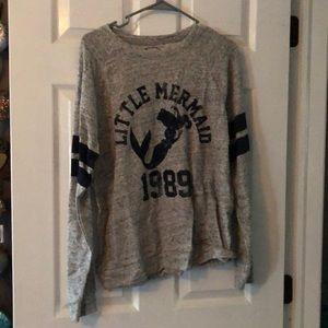 disney little mermaid ariel sweatshirt